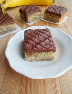 Culinary Couture: To Die For Banana Cake with Chocolate Frosting