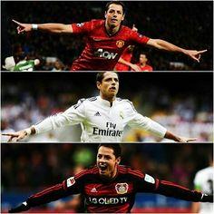 Los 100 goles de Javier Hernandez en Europa