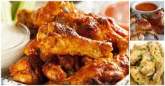 No March Madness party is complete without buffalo wings. Try or all 21 of our favorite buffalo wings recipes. Brownies Au Nutella, Baked Buffalo Wings, Buffalo Chicken, Spicy Wings, Chicken Wing Recipes, Recipe Chicken, Baked Chicken, Thai Chicken, Turkey Recipes