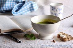 Vellutata di piselli con baccelli, ricetta di Sabrine d'Aubergin