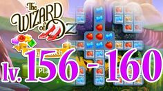 Wizard of Oz: Magic Match - Level 156 - 160 (1080/60fps)