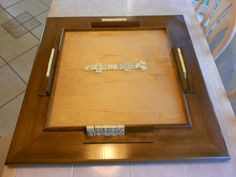 Solid Wood Table Top Domino Table by Figueroas on Etsy