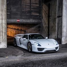 The Porsche 911 is a truly a race car you can drive on the street. It's distinctive Porsche styling is backed up by incredible race car performance. Porsche 918 Spyder, Porsche Cars, Porsche Classic, Automotive Photography, Car Photography, Lamborghini Gallardo, Porsche Carrera, Sexy Cars, Hot Cars