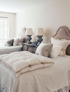 neutrals + bedroom