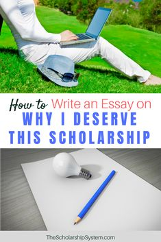 why i deserve to win a scholarship essay Why i deserve a scholarship my name is fernando i believe that i am deserving of this scholarship because i put forth a lot of effort into everything that i do i do my best in any and everything when i set goals for myself.