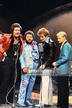 Photo d'actualité : France, Joe Dassin, Carlos, Eddy Mitchell And...