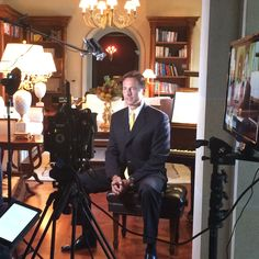 #BTS yesterday with Villazzo Founder & President Christian Jagodzinski, busy at work at Villa Contenta during the filming session about his new Villa Investment Partnership. For more details contact john.boules@villazzo.com. #Villazzo #MiamiBeach #VillaContenta