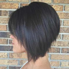 14.Stacked Bob Haircut