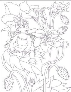 nicoles free coloring pages fairy coloring page