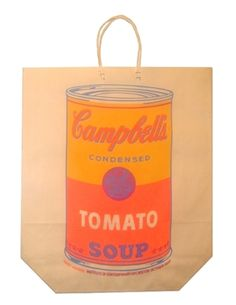 Campbell's Soup Can on Shopping Bag, 1966