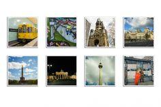 """Oryginalne gotowe magnesy na lodówkę z Instagram wzór """"City""""   Zdjęcia drukowane są w formie kwadratu na wzór Instagram  Komplet zawiera 8 szt. gotowych magnesów, wzór """"City"""" w rozmiarze 5 x 5 cm  Magnesy pokrywane są zabezpieczającym laminatem dzięki temu są trwałe i służą przez lata."""
