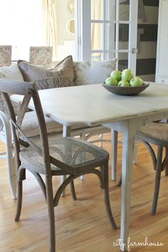 Create Style Without Breaking The Bank-New Eating Nook-Thrifty Makeover