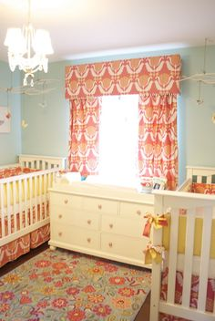 Custom Nursery Art by Kimberly: More Twin Nursery Ideas @Shante Russell i love this one :)