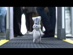 GEICO Dough Boy Commercial - Happier than the Pillsbury Doughboy on His Way to a Baking Convention. FAVORITE COMMERCIAL EVER!!