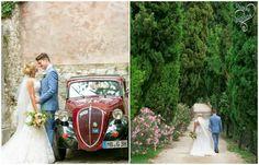 vintage car# italy wedding# lake garda wedding by varese wedding
