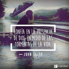 HOY DIOS TE DICE CONFIA Y ESPERA. | Con fe! | Pinterest ...