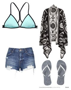 """Untitled #527"" by hannahjoyjacob on Polyvore featuring Victoria's Secret, Topshop, H&M, women's clothing, women, female, woman, misses and juniors"