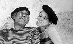 Anthony Quinn and Anna Karina. http://t.co/xHsauF8XIc