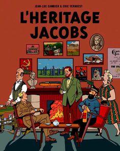 Les Aventures de Tintin - Album Imaginaire - L'Héritage Jacobs