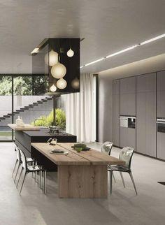 Kitchen Room Design, Home Decor Kitchen, Interior Design Kitchen, Kitchen Living, Home Kitchens, Dream Kitchens, Ikea Kitchen, Room Kitchen, Kitchen Ideas