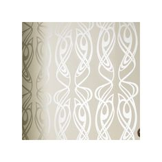 """Found it at Wayfair - Diva Oyster 33' x 20.5"""" Abstract Foiled Wallpaper"""