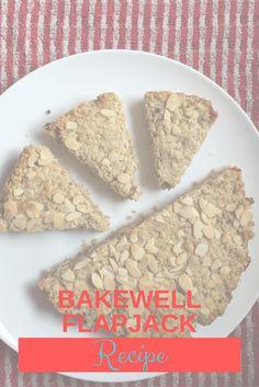 Bakewell Flapjack Recipe