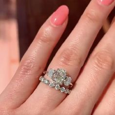 #hellojewelr #ring #engagement #weddings #shopping #weddingset #ringset #gift #silverring Wedding Band Sets, Wedding Ring, Jewelry Tags, Ring Size Guide, Bridal Sets, Free Gifts, Engagement Rings, Sterling Silver, Stone