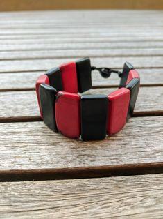 Tagua colorful bracelets. Beach and summer fashion. Boho chic | Etsy