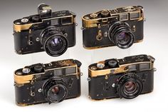 Lot:Leica M3/M4 black paint cameras 'Abbas', 1962/69, Lot Number:72, Starting Bid: €36000, Auctioneer:WestLicht Photographica Auction , Auction:Leica M3/M4 black paint cameras 'Abbas', 1962/69, Date:03:00 AM PT - May 23rd, 2014