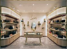 Project: Christian Louboutin bag concession - Retail Focus - Retail Interior Design and Visual Merchandising