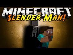 Minecraft Mod Showcase : SLENDER MAN! (Updated!)