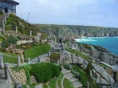 photos of the Minack Theatre, west Cornwall. I would love to go to a production here.