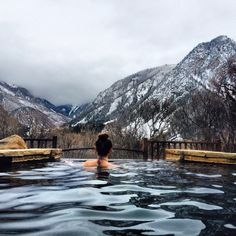 Avalanche ranch hot springs #whiterivernationalforest