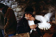 TURKEY. Istanbul. 2001. Pigeon market