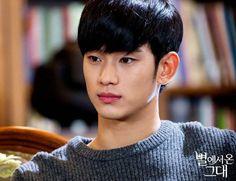 Kim Soo Hyun habla de su relación con Bae Yong Joon, retos de actuación, y el personaje que más se parece a él | allkpop.com