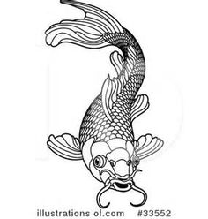 Clip Art Koi Fish Clipart koi fish clip art bing images drawing pinterest images
