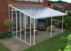 veranda bauen terrassenüberdachung glas fertig