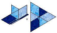 Tumbling Blocks Sewing Tips, Sewing Hacks, Sewing Crafts, Tumbling Blocks Quilt, Quilt Blocks, Quilt Block Patterns, Pattern Blocks, Optical Illusion Quilts, Quilt Tutorials