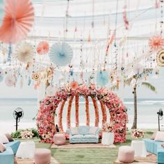 Best Of Wedding Decor 2019 Spotted At Indian Weddings shaadiwish indianwedding decor weddingdecorations decorideas weddingdecor decoratingideas Indian Beach Wedding, Indian Wedding Theme, Indian Destination Wedding, Desi Wedding Decor, Wedding Decorations On A Budget, Engagement Decorations, Wedding Mandap, Indian Weddings, Budget Wedding
