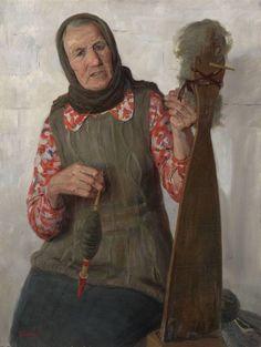Портрет Галины Фёдоровны Липиной, автор Творчество Татьяны Юшмановой. Артклуб Gallerix