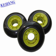 [Outdoor Sports] Kehang New product spark stone roller skate PU inline skate wheel 72mm 76mm 80*24mm with PP core