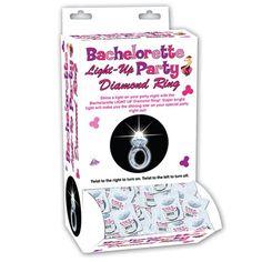Bachelorette Light-Up Party Diamond Ring