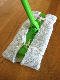 homemade swiffer cloth