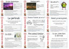 PROJET ATELIERS ECRITURE - Fiches