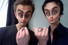 in love with this picture, the salvatore brothers.