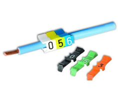 ZipTape offers PVC snap-on wire markers and cable markers for ...