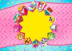 Convite para Festa Convite 2 Shopkins