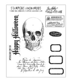 Tim Holtz Cling Rubber Stamp Set-Apothecary at Joann.com