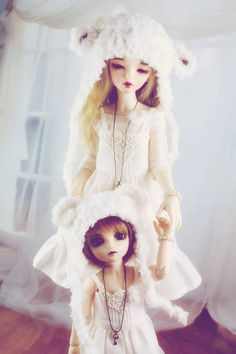 Cream Sets for Minifee and Littlefee by guppykisses on deviantART