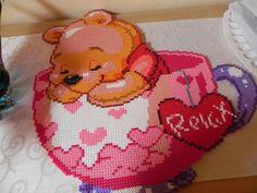 Baby Winnie hama perler beads by hardy8676